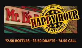 Best Royal Oak Happy Hour 3p-6p {M-F} with - $2.50 bottles-$3.50 Drafts - $4.50 Call Drinks